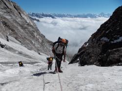 Bergsteigen in Indien