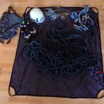 Seiltasche mit 70m-Seil
