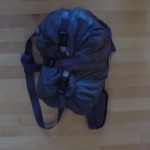 Komprimierte Tasche