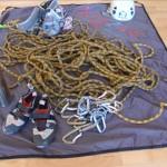 50m-Seil & zahlreiche Utensilien